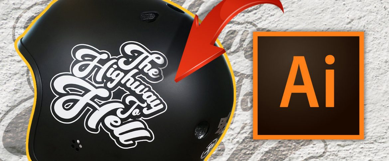 How to Design Custom Helmet Stickers