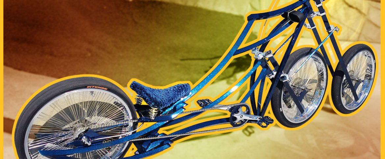 3 wheels custom bike