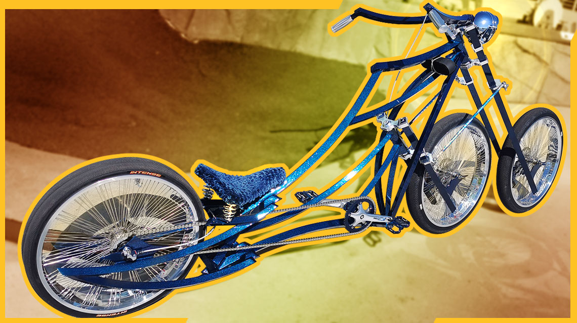 Amazing custom Three Wheels