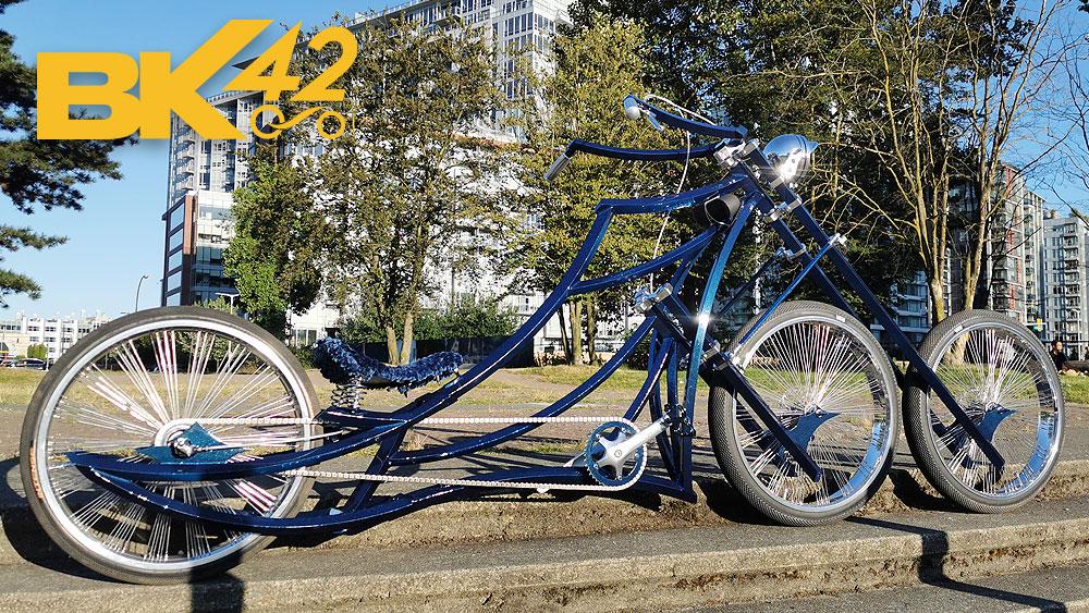 Amazing Three Wheels CUSTOM BIKE You MUST See