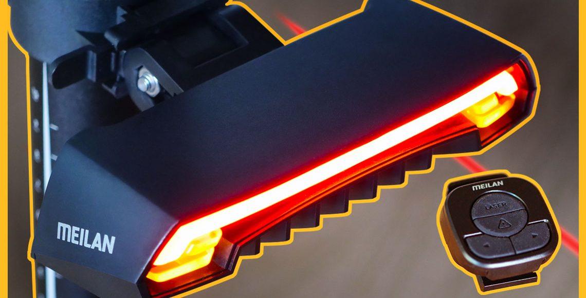 EBIKE Wireless Laser Tail Light - Meilan X5