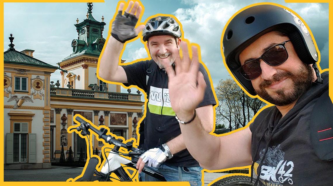 BIKE TOUR in Warsaw - War Ruins