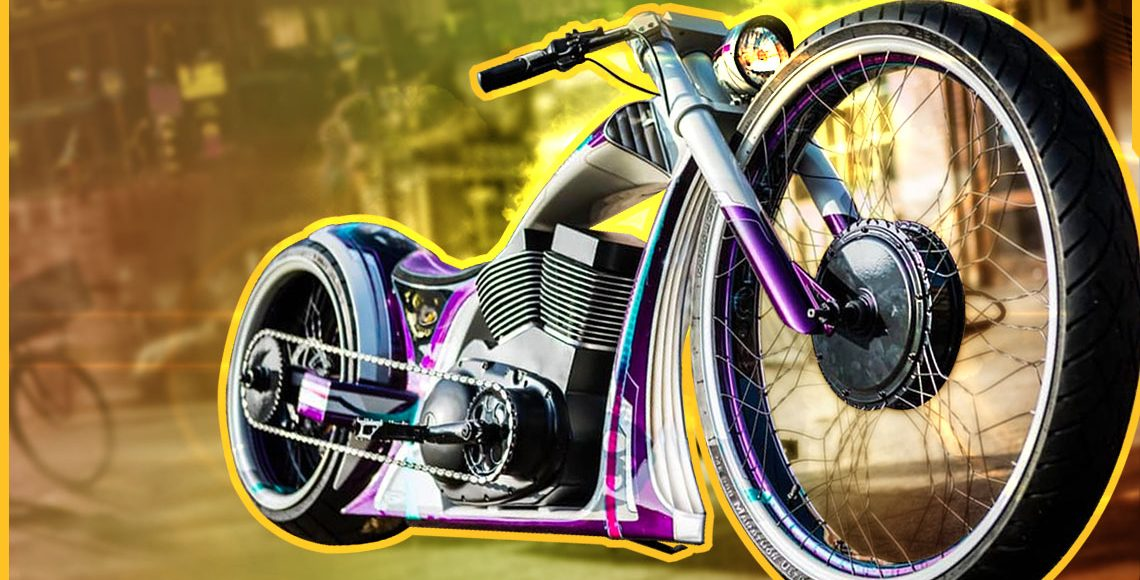 AWESOME CUSTOM E-BIKES