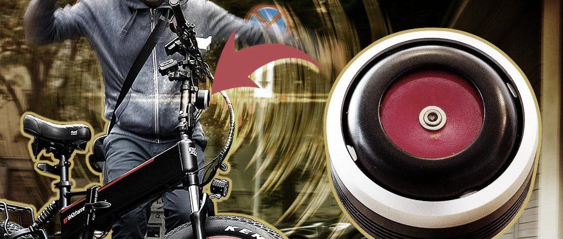 Super Loud Trumpet Horn Alarm System For E Bikes