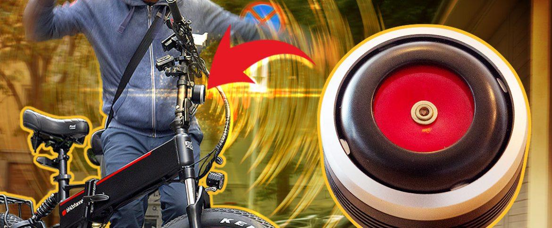 SUPER LOUD trumpet Horn & Alarm System for E-bikes