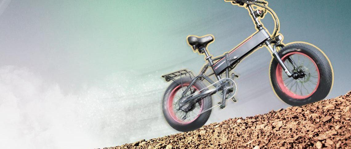 Folding E Bike 750w Uphill Tests