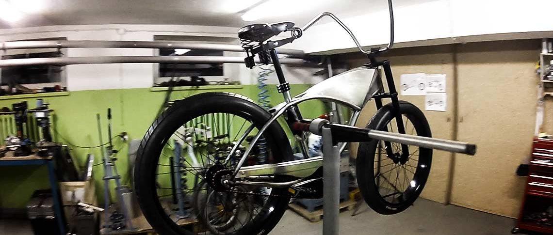 How A Custom Bike Is Build Bk42