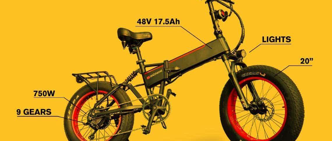 On A Budget Powerful Folding E-Bike