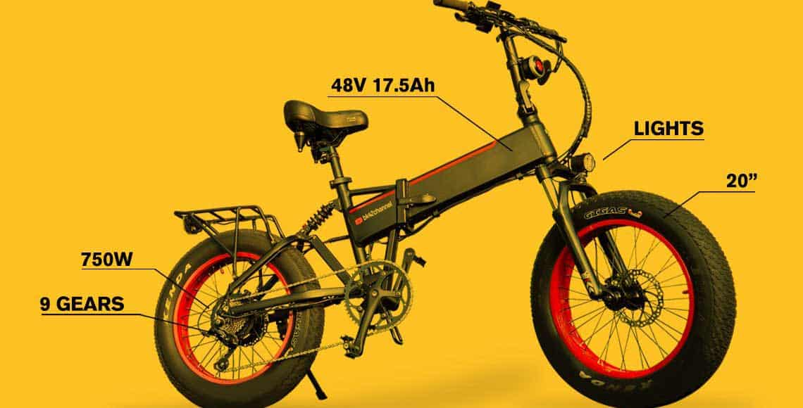 On a Budget Powerful Folding E-Bike