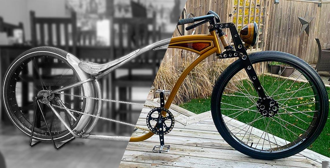 Building a Custom Chopper Bike with Garry Weston