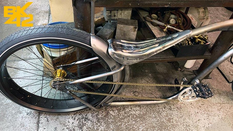 Building a Custom Chopper Bike