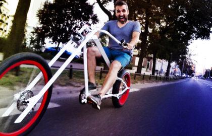 Custom Chopper Bike Build
