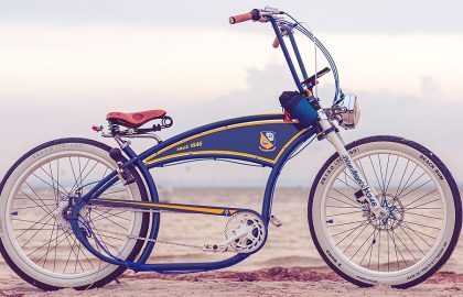 Blue Angels BASMAN Tribute CUSTOM Bike