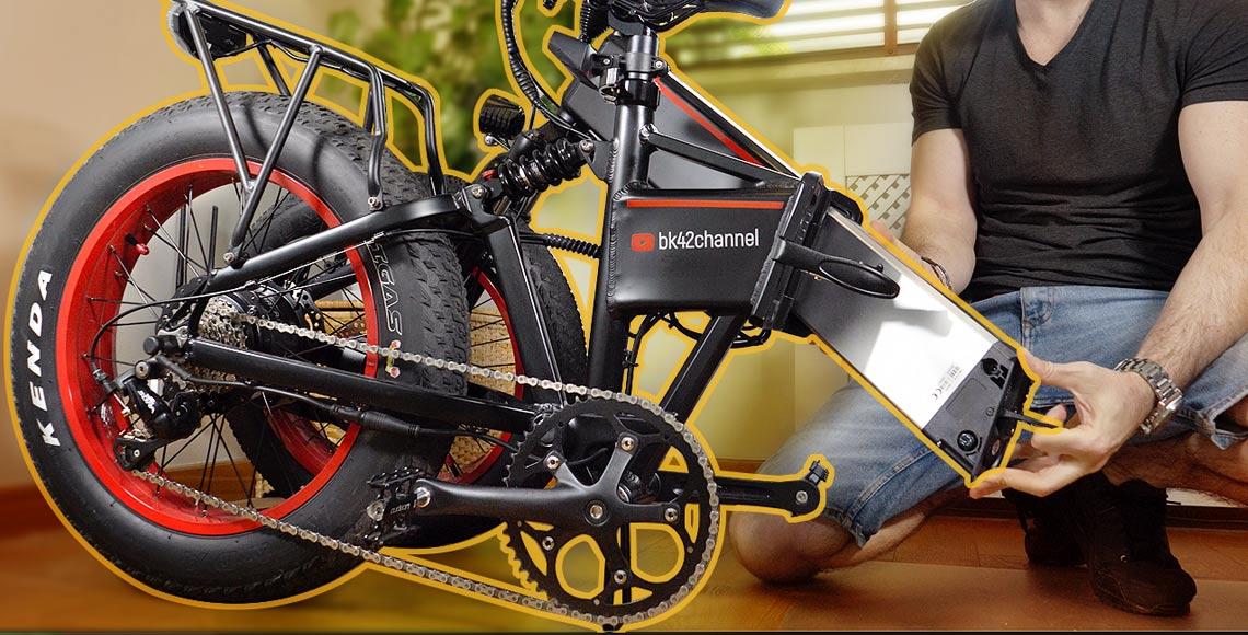 Maintenance of Folding E-Bikes