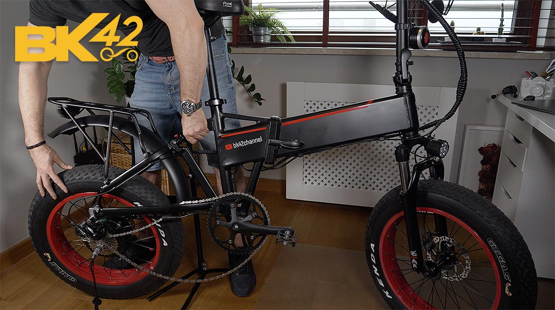 Maintenance of a Folding E-Bike