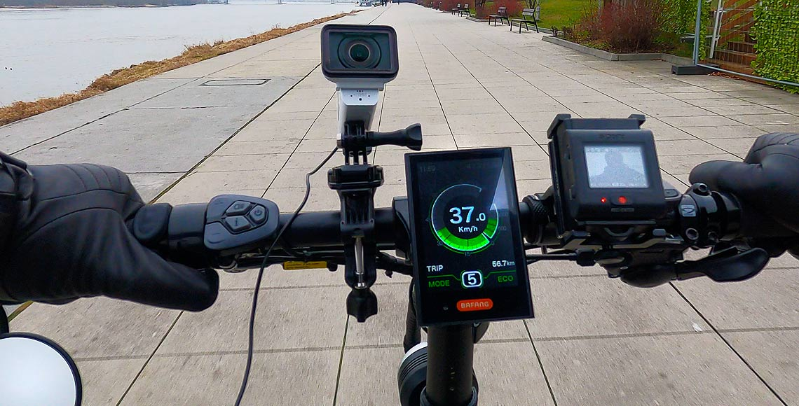 Folding Ebike POV GoPro Hero 9