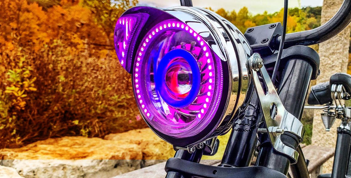 Bicycle Custom Headlight Showcase