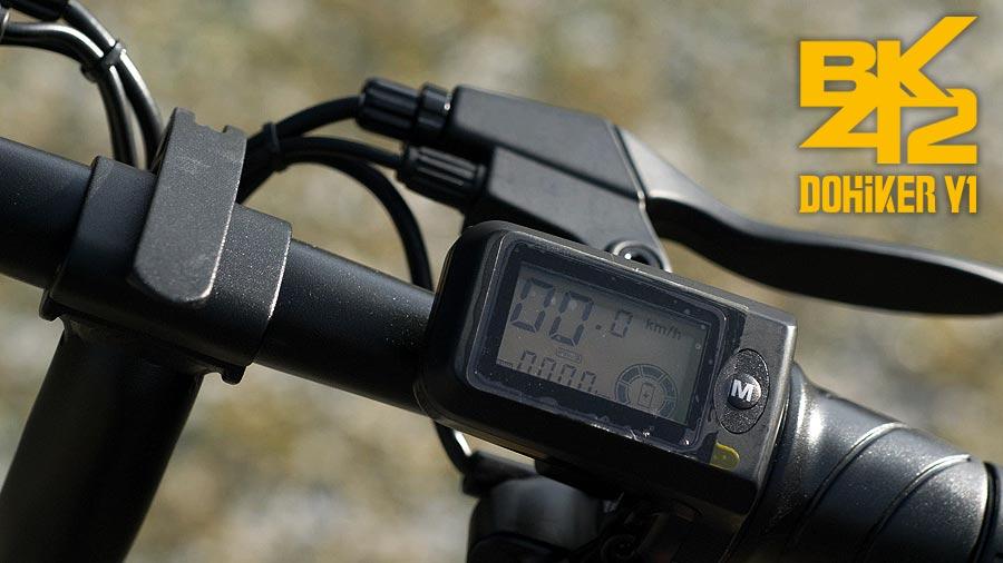 DOHIKER-Y1-Mini-e-Bike-display