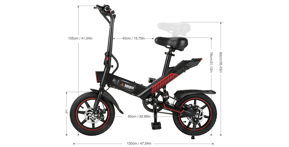 DOHIKER Y1 Great Little eBike